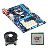 Kit Placa de Baza Refurbished GIGABYTE GA-P61A-D3, Intel i3-3220, Cooler